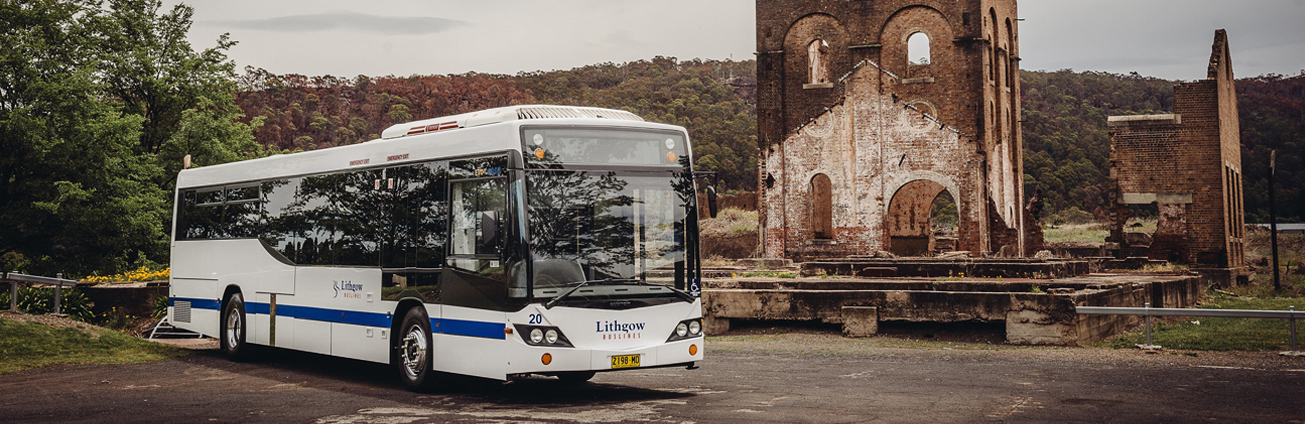 Lithgow Buslines bus
