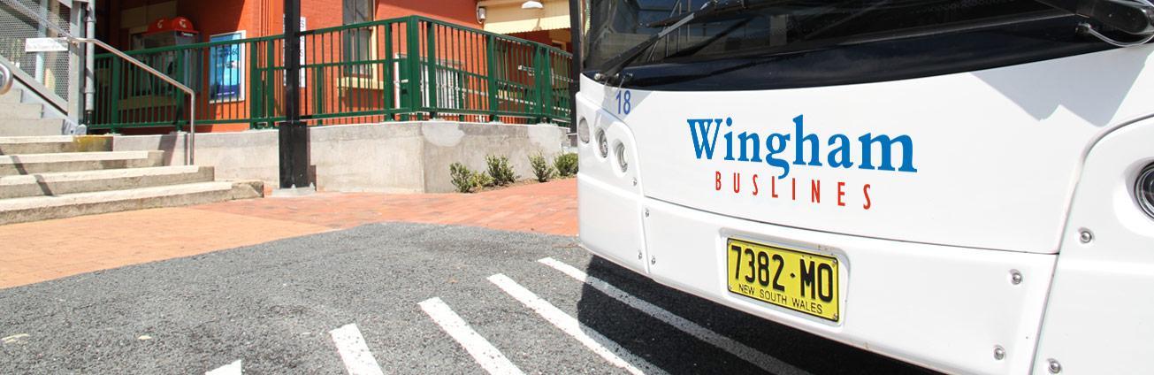 Wingham Buslines bus